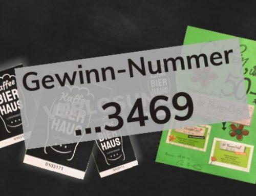 Kaffee BIERHAUS – Karte …3469 hat den 50,- € Gutschein gewonnen!