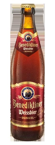 Benediktiner Weissbier -dunkel-